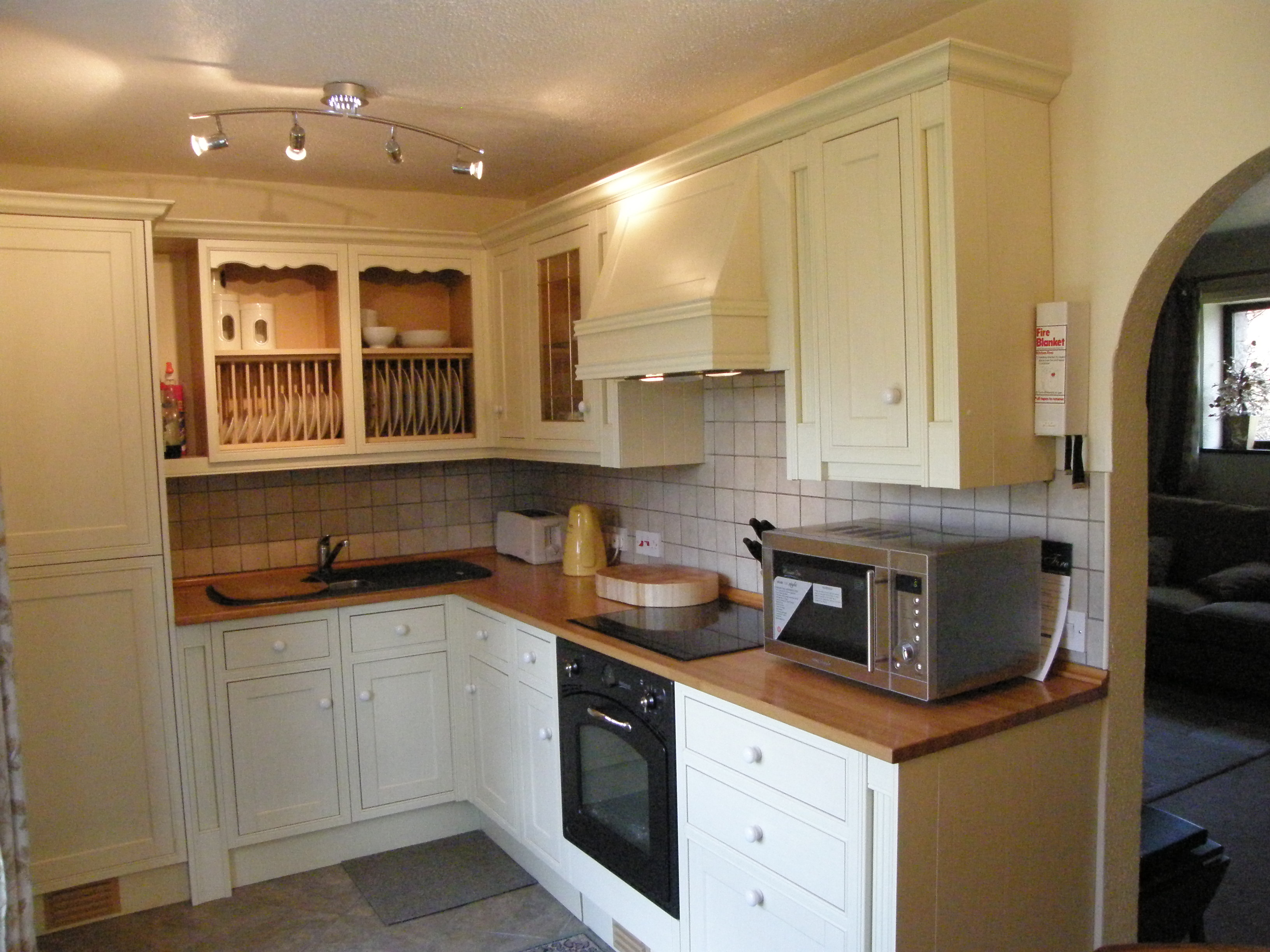 Ash cottage for Wooden fitted kitchen